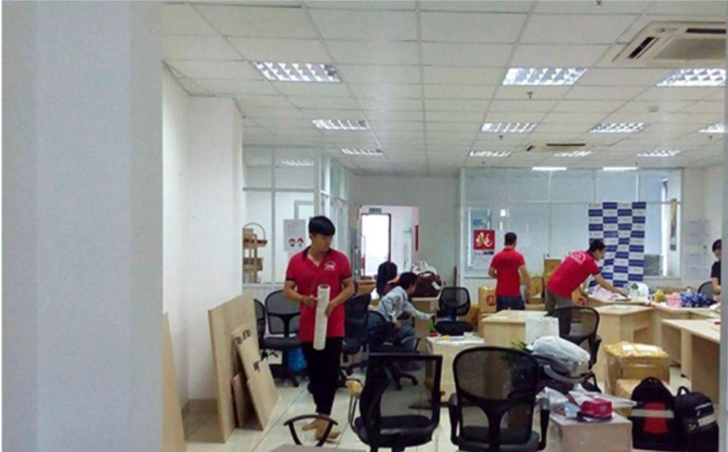 Chuyener văn phòng trọn gói tphcm