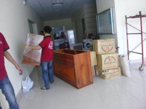 Quy trình thực hiện chuyển văn phòng của Taxi Tải Giá Rẻ Sài Gòn