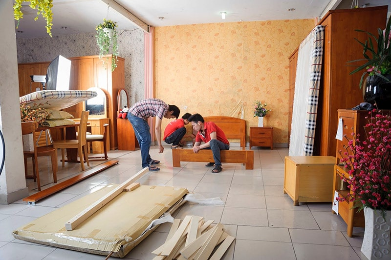 Thực hiện hợp đồng của dịch vụ chuyển nhà giá rẻ