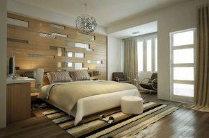 Bài trí đèn trong phòng ngủ phù hợp với phòng ngủ và hợp lý