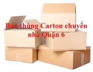 bán thùng carton chuyển nhà Quận 6