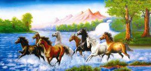 Hướng dẫn treo tranh ngựa phong thủy đúng cách
