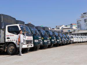 Xe tải tại Taxi Tải Giá Rẻ Sài Gòn có đa dạng tải trọng