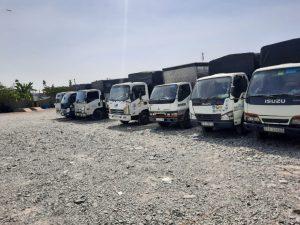 Xe tải đa kích thước trọng tải đáp ứng mọi yêu cầu của khách hàng