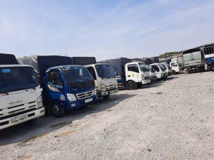 Hệ thống cho thuê xe tải đa kích thước