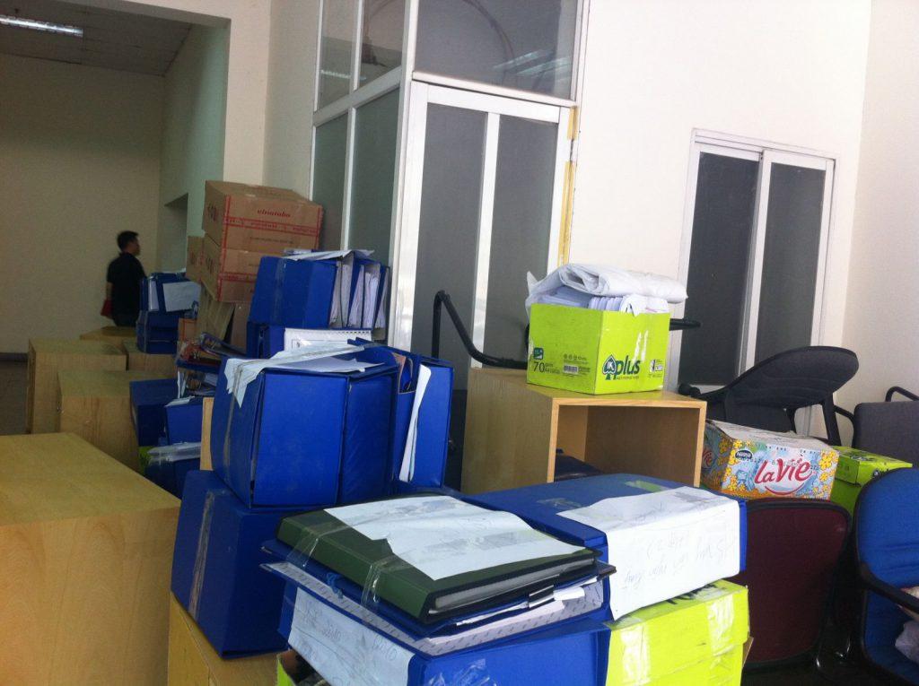 Dịch vụ chuyển văn phòng trọn gói quận Tân Bình