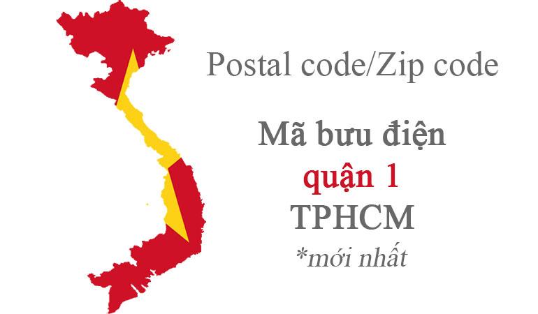 Mã zip code quận 1