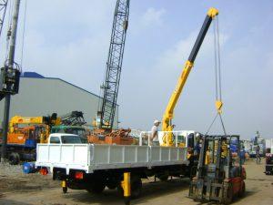 Xe cẩu đa trọng tải, kích thước đáp ứng được mọi yêu cầu của khách hàng