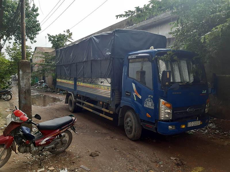 Thuê xe tải chuyển văn phòng quận 12
