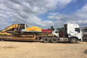 Dịch vụ vận chuyển máy công trình xây dựng
