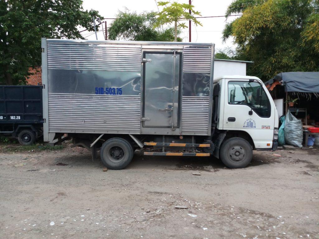 Xe tải phục vụ chuyển văn phòng trọn gói quận Tân Bình