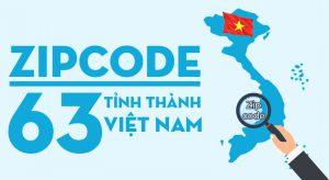 Mã zipcode 63 tỉnh thành Việt Nam
