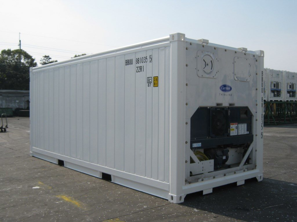 container 20f