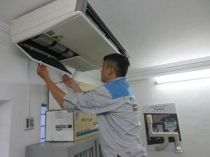 Xác định vị trí lắp đặt máy lạnh phù hợp