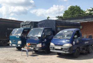 Cho thuê xe tải chở hàng đi tỉnh đa kích thước trọng tải