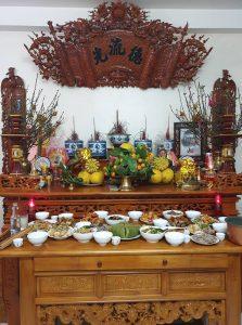 lưu ý khi bài trí bàn thờ Phật