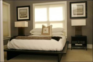 phong thủy đặt giường ngủ