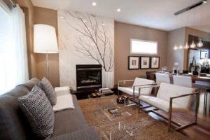 thiết kế không gian phòng khách mệnh thổ