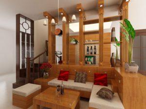 mẫu thiết kế phòng khách cổ điển