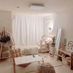 mẫu thiết kế phòng trọ phong cách lãng mạn