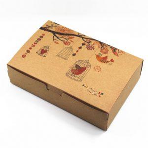mẫu thiết kế hộp carton dành tặng gia đình