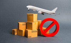 danh sach các thứ cấm vận chuyển bằng máy bay