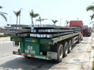 Dịch vụ chuyên vận chuyển sắt thép xây dựng