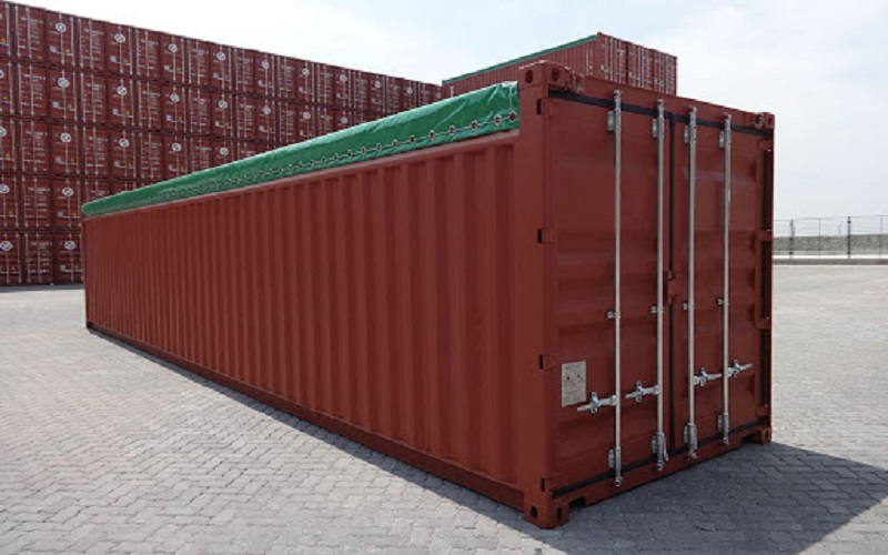 Thùng Container 40 feet Open Top (OT)