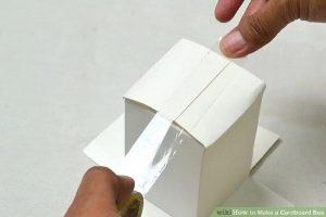 hướng dẫn làm hộp giấy carton đôi