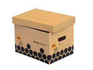 mẫu thùng carton nắp rời