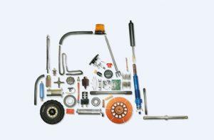 Những loại trang thiết bị xe nâng điện